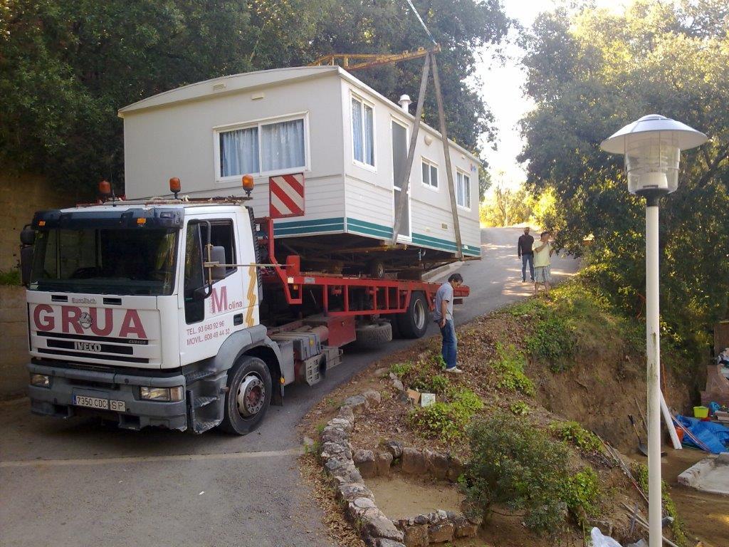 Transporte de módulos y bungalows 4