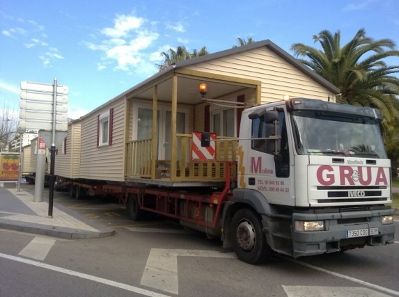 transporte módulos